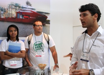 """I found the part on offshore riser installation and how they prepare for drilling especially interesting"", says Paulo Paz, who is from Deodoro, Rio de Janeiro."