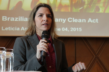 Leticia Andrade, Head of the Legal department of Statoil do Brasil.