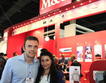 Thomas Granly and Marie Louise Iversen from IMB2B.