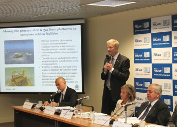 "50 percent of the Norwegian investments in Brazil are done in the field of oil and gas. ""The Norwegian industry is eagerly looking abroad, and also developing new markets where this knowledge and offshore technology can be applied. Offshore wind farm is one example"", says Mr. Runar Rugtvedt from the Federation of Norwegian Industry."